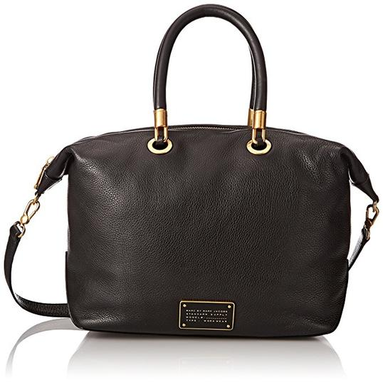 Preload https://img-static.tradesy.com/item/21025930/marc-by-marc-jacobs-new-too-hot-to-handle-top-zip-black-leather-satchel-0-0-540-540.jpg