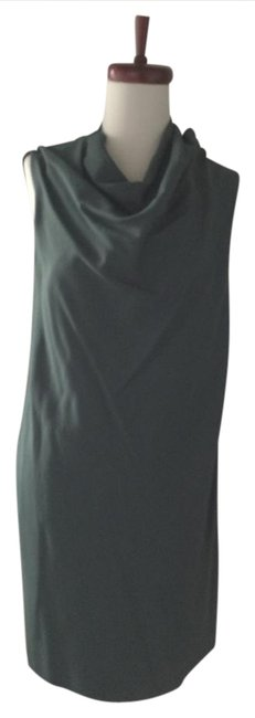 Carven Cowl Neck Sleeveless Sheath Dress