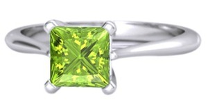 Other GREEN PERIODT SOLITARE ( 1.2 CT / 14K GOLD ) RING