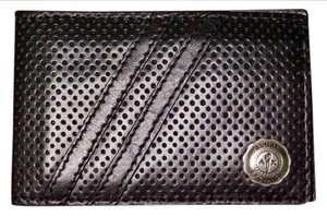 A|X Armani Exchange Leather Card Holder