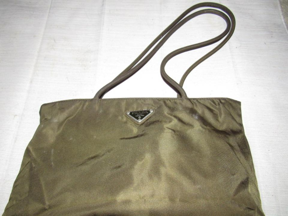 29ce42d10a Prada Vintage Purses Designer Purses Dark Olive Green and Brown ...