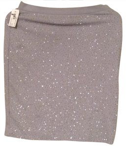 Moda International Skirt Light Gray
