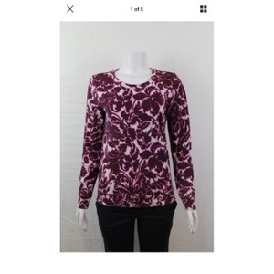 Ann Taylor LOFT Top purple & pink