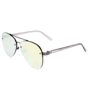 Lucky Brand Lucky Brand Avalon Gunmetal Mirrored Sunglasses