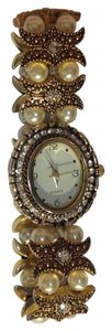 Other vintage pearl rhinestone watch