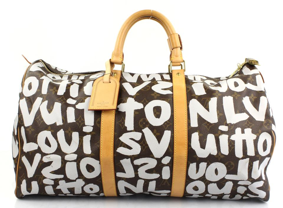 53d549e34cd8 Louis Vuitton Lv Luggage Lv Keepall Limited Edition Duffle Carry On Monogram  Travel Bag Image 0 ...