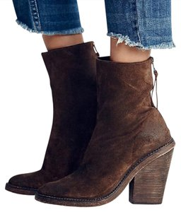 Free People Ankle Western Festival Cowboy Boho Everyday Brown Boots