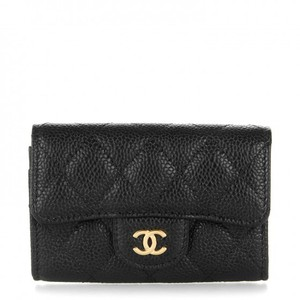 Chanel Brand New Chanel Classic Quilted Card Holder