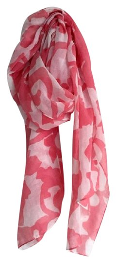 Preload https://img-static.tradesy.com/item/21026696/jcrew-pink-floral-printed-lightweight-scarfwrap-0-1-540-540.jpg