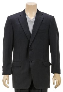 Ermenegildo Zegna Ermenegildo Zegna Navy Blue Two Button Jacket and Pant Suit (Size 54)