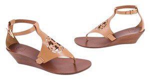 Tory Burch Tan Ankle Strap sand Sandals