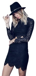 For Love & Lemons J Rag Bone Top Black