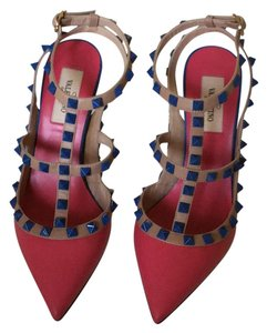 Valentino multi- pink, blue,green Pumps
