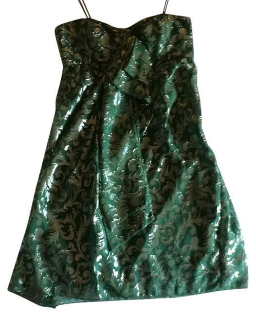 Preload https://img-static.tradesy.com/item/21027076/nicole-miller-green-collection-mid-length-cocktail-dress-size-6-s-0-1-650-650.jpg