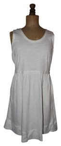 J.Crew short dress White Pockets on Tradesy
