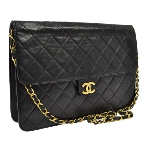 Chanel Quilted Lambskin European Exclusive Luxury Shoulder Bag