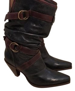 Charlie horse black and brown Boots