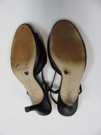 Liz Claiborne Leather 8.5m Good Condition black Sandals