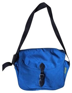 Herve Chapelier Laptop Bright Spring Messenger Herve Blue Messenger Bag