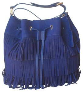 Vince Camuto New With Tags Nwt Suede Fringe Shoulder Bag