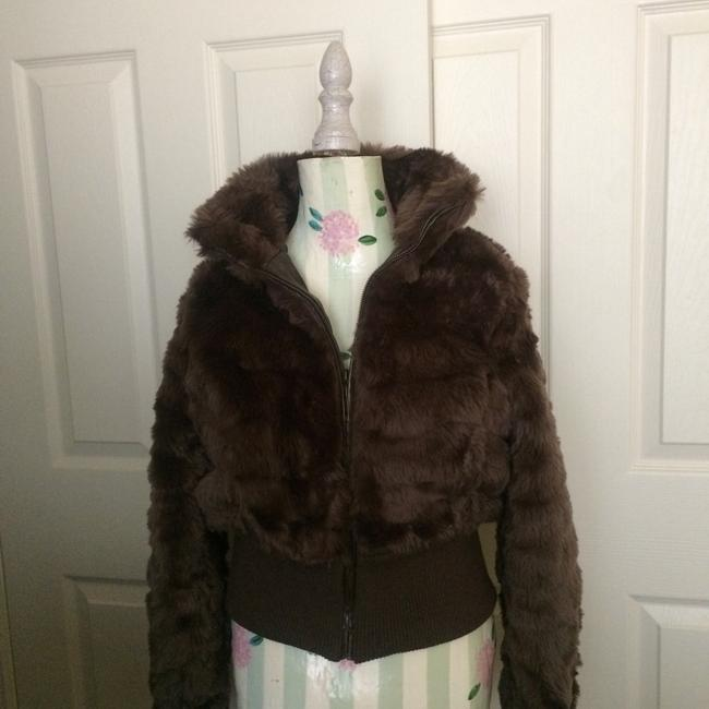 Preload https://img-static.tradesy.com/item/21027500/jou-jou-brown-fur-coat-size-12-l-0-0-650-650.jpg