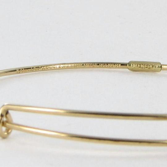 Alex and Ani PC13B129YG Initial Y Expandable Bracelet 14k Gold Filled