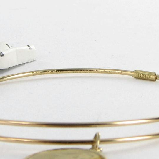 Alex and Ani PC13B129GG Initial G Expandable Bracelet 14k Gold Filled