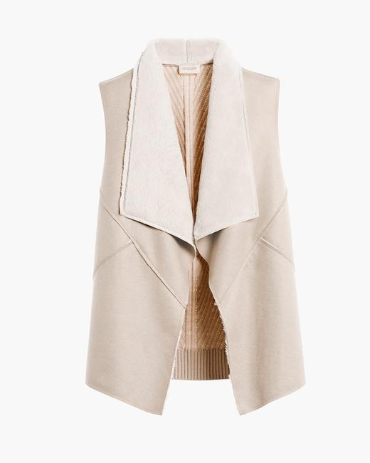 Chico's Shearling Vest