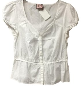 Juicy Couture Button Down Shirt White
