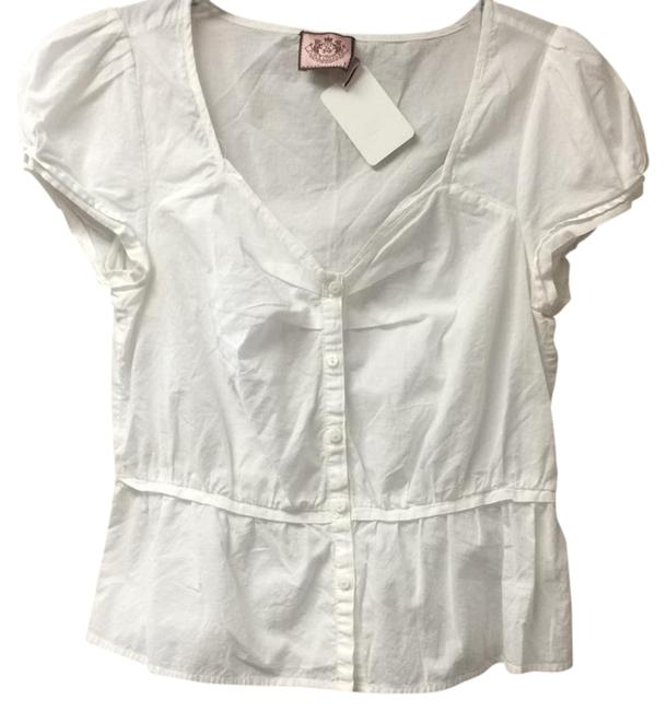 Preload https://img-static.tradesy.com/item/21027724/juicy-couture-white-jg000151-button-down-top-size-8-m-0-1-650-650.jpg