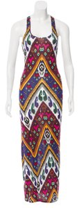 Maxi Dress by Torn by Ronny Kobo Ikat Print Maxi Racerback