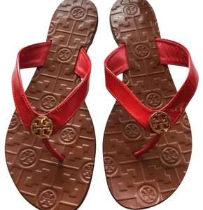 Tory Burch Red Flame Sandals