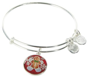 Alex and Ani CBD15GBSS Gingerbread Man Dana-Farber Cancer Expandable EWB Bracelet