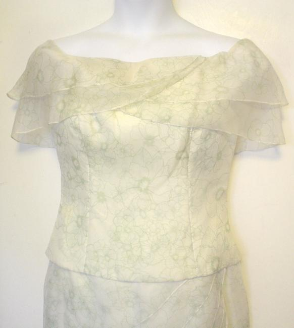 Chetta B. by Sherrie Bloom and Peter Noviello Floral Top Skirt Garden Party Dress