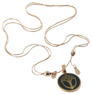 Alex and Ani Necklace Unexpected Miracles Color Fusion Charcoal Rose Gold-Tone