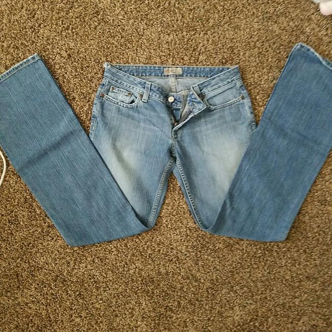 BKE Casual Misses Relaxed Fit Jeans-Distressed