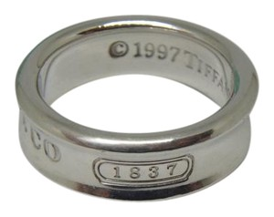 Tiffany & Co. sterling silver medium 1837 Ring 6mm wide
