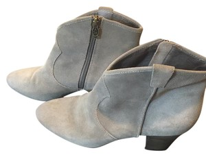 Ash Taupe Suede Grey Boots