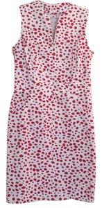 J.McLaughlin short dress red Polka Dots Sheath Hudson on Tradesy