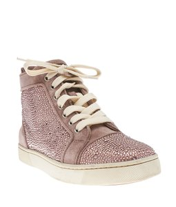 Christian Louboutin Suede Pink Athletic
