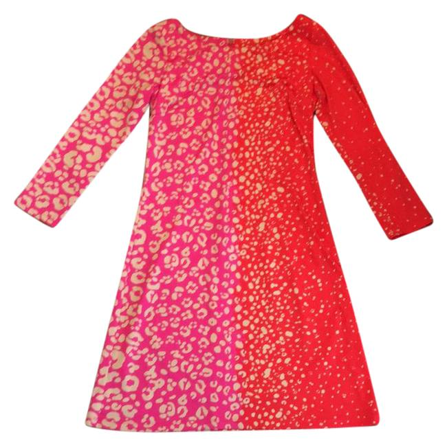 Preload https://img-static.tradesy.com/item/21028110/jb-by-julie-brown-red-pink-short-casual-dress-size-4-s-0-1-650-650.jpg