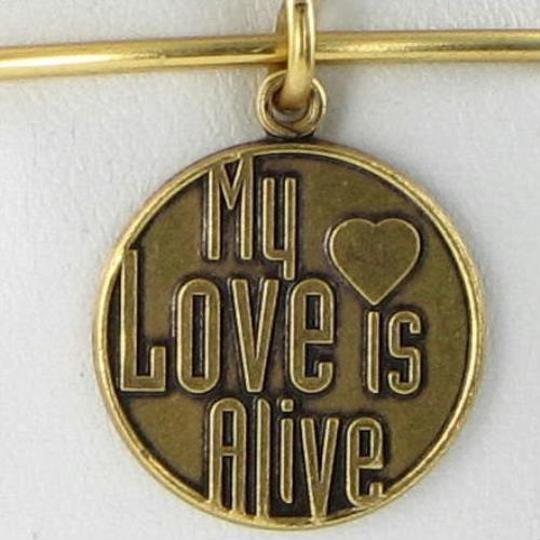 Alex and Ani CBD12MLIARG My Love Is Alive Expandable EWB Bracelet Russian Gold