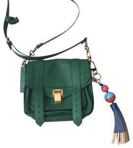 Tory Burch Dipped Leather Tassel Bag Charm Tidal Wave