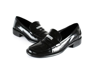 Coach Loafers 7b Black Flats
