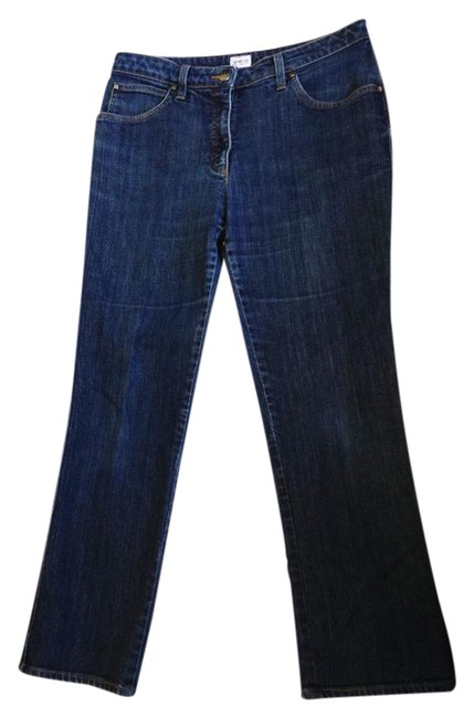Preload https://img-static.tradesy.com/item/21028317/armani-collezioni-blue-medium-wash-womens-denim-boot-cut-jeans-size-32-8-m-0-1-650-650.jpg