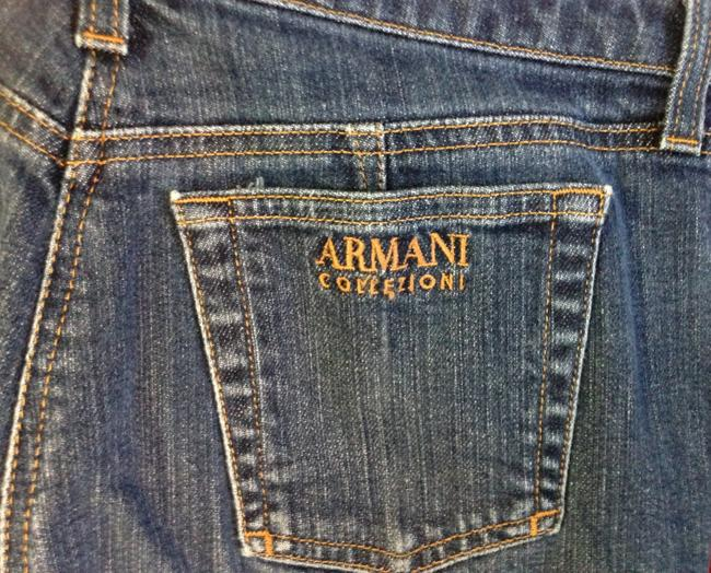 Armani Collezioni 12 Pants Boot Cut Jeans-Medium Wash
