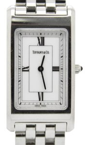 Tiffany & Co. Tiffany & Co. Stainless Steel Rectangular Ladies Swiss Vintage Watch
