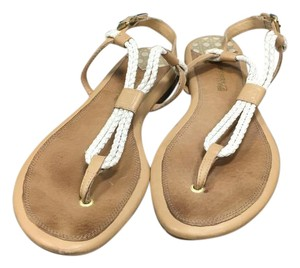 Sperry Tan/White Sandals