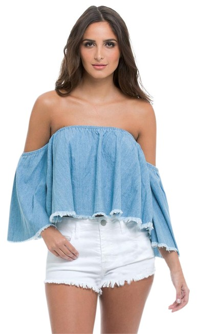 Preload https://img-static.tradesy.com/item/21028518/elan-denim-34-sleeve-off-shoulder-cropped-tank-topcami-size-8-m-0-7-650-650.jpg