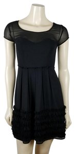 LC Lauren Conrad Mini Cocktail Pleated Dress